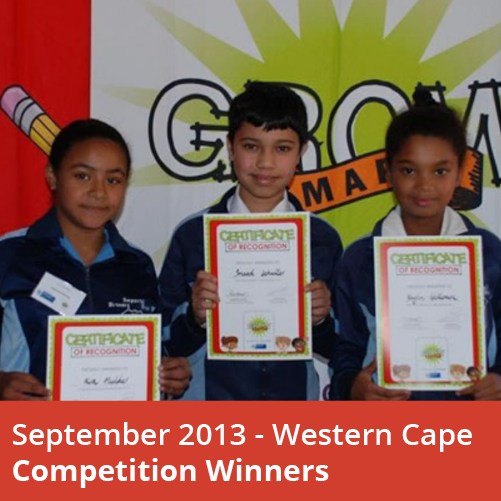 2013_Western Cape winners